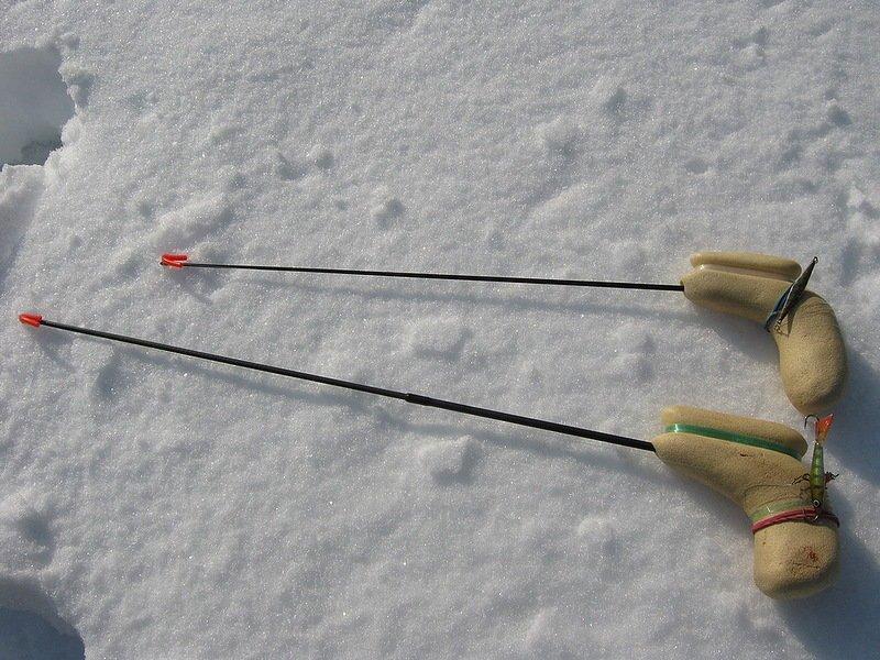 Из чего сделать удочку для зимней рыбалки
